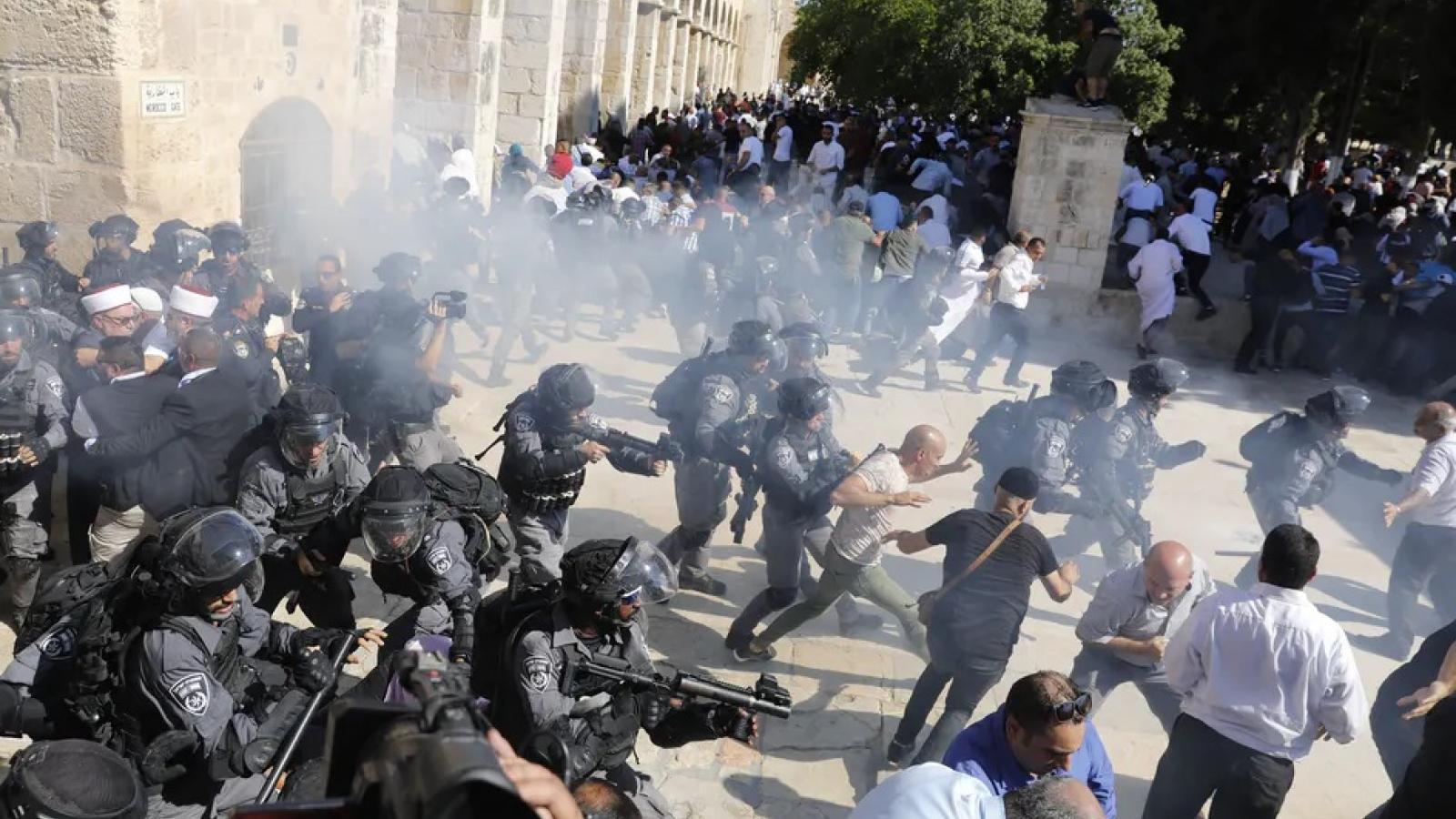 EU lo ngại căng thẳng leo thang giữa Israel và Palestine liên quan đến Núi Đền