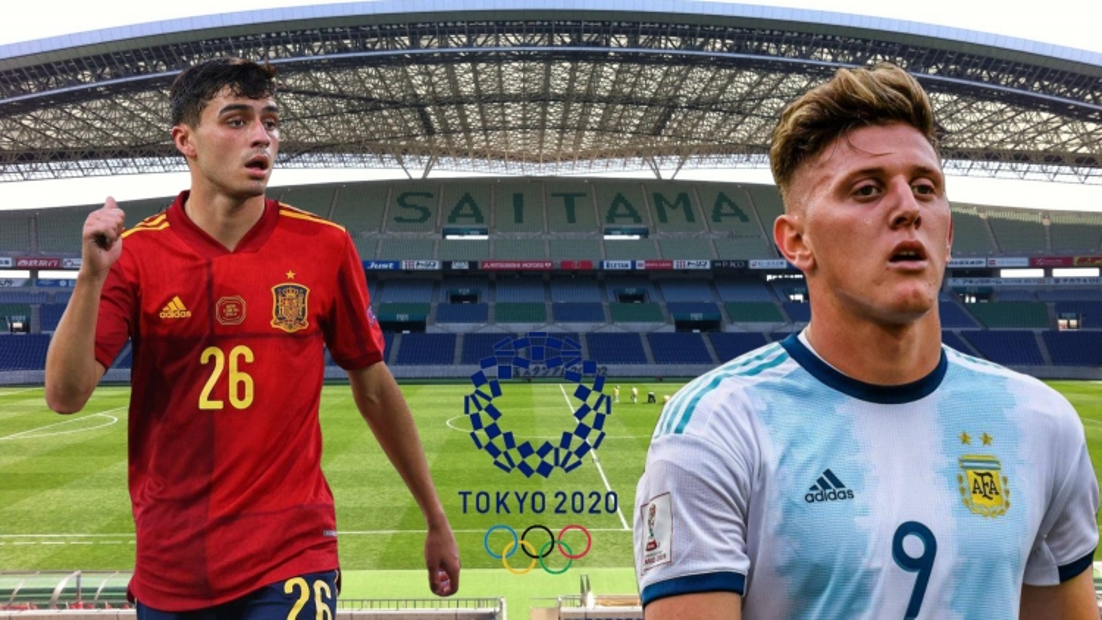 Dự đoán kết quả, đội hình xuất phát trận Olympic Tây Ban Nha - Olympic Argentina