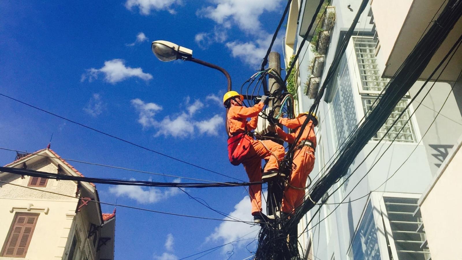 Tiêu thụ điện khu vực miền Nam giảm mạnh trong những ngày đầu thực hiện Chỉ thị 16