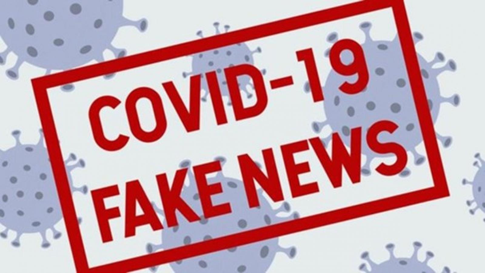 Tin giả gây cản trở các nỗ lực kiểm soát dịch Covid-19 tại Mỹ