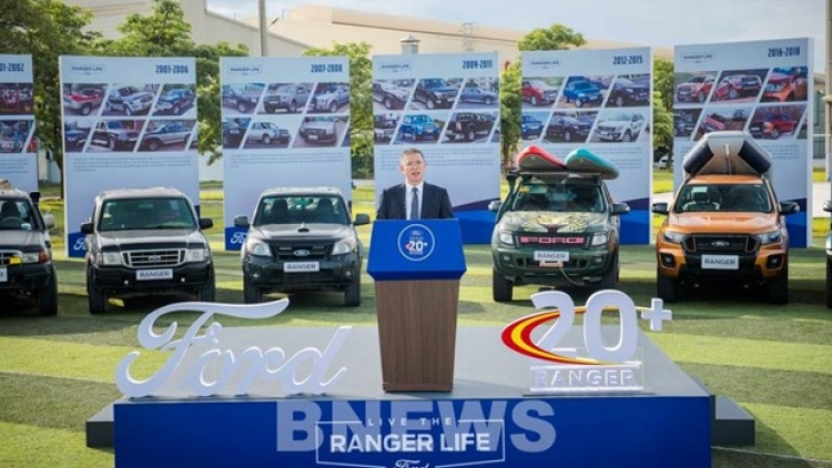 Ford Vietnam complete first-phase expansion of Hai Duong facility