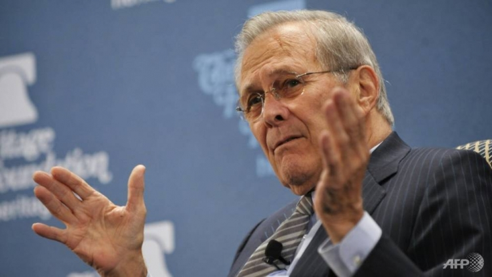 Cựu Bộ trưởng Quốc phòng Mỹ Donald Rumsfeld qua đời ở tuổi 88