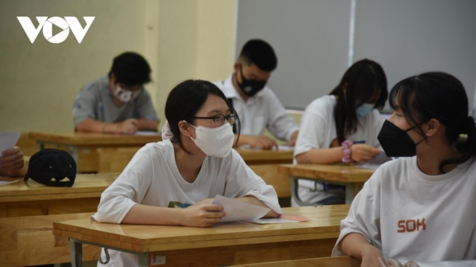 Điểm thi tốt nghiệp THPT 2021: Phản ánh đúng chất lượng dạy và học