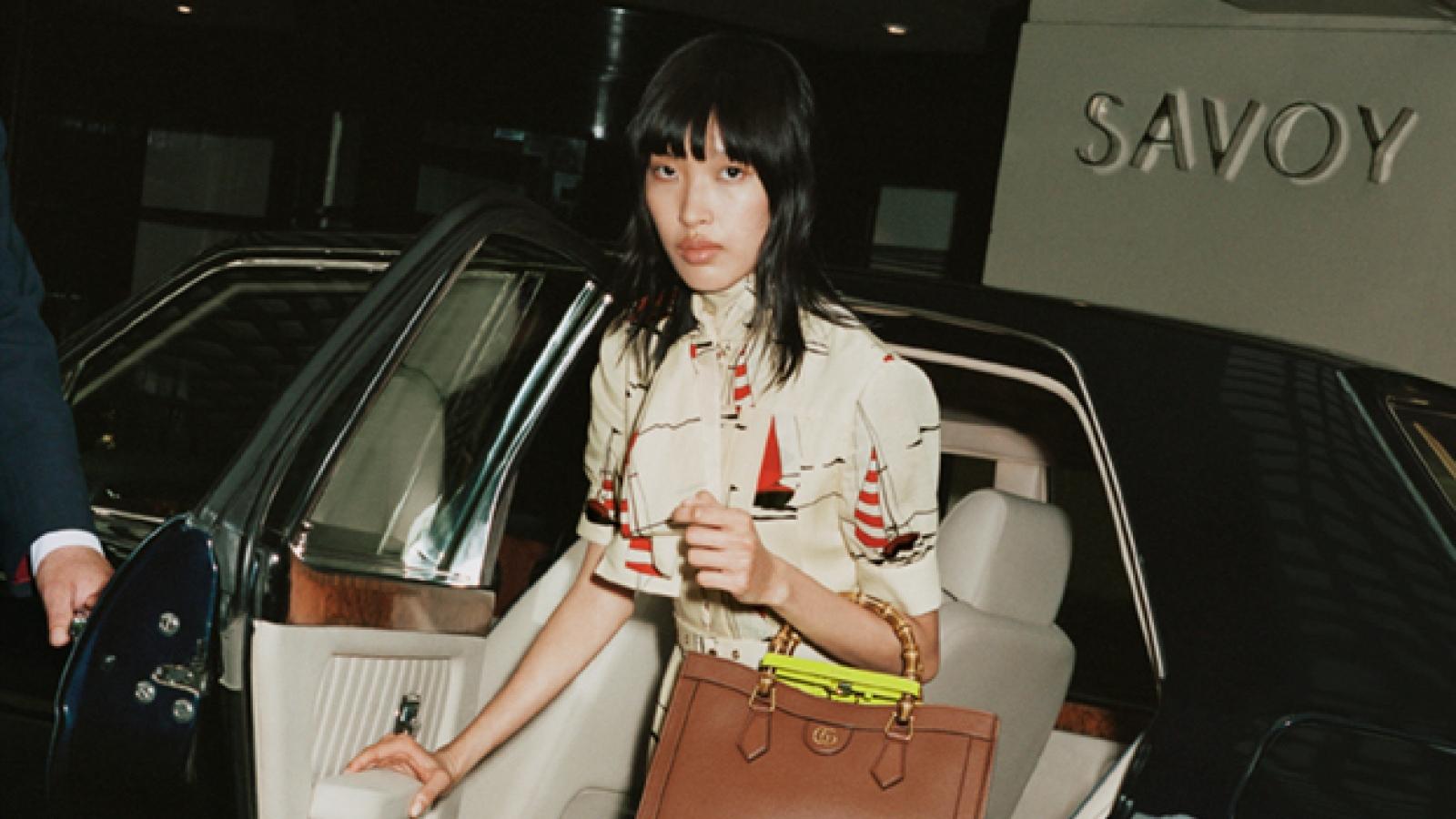 Người mẫu Việt đầu tiên xuất hiện trong chiến dịch quảng bá của Gucci