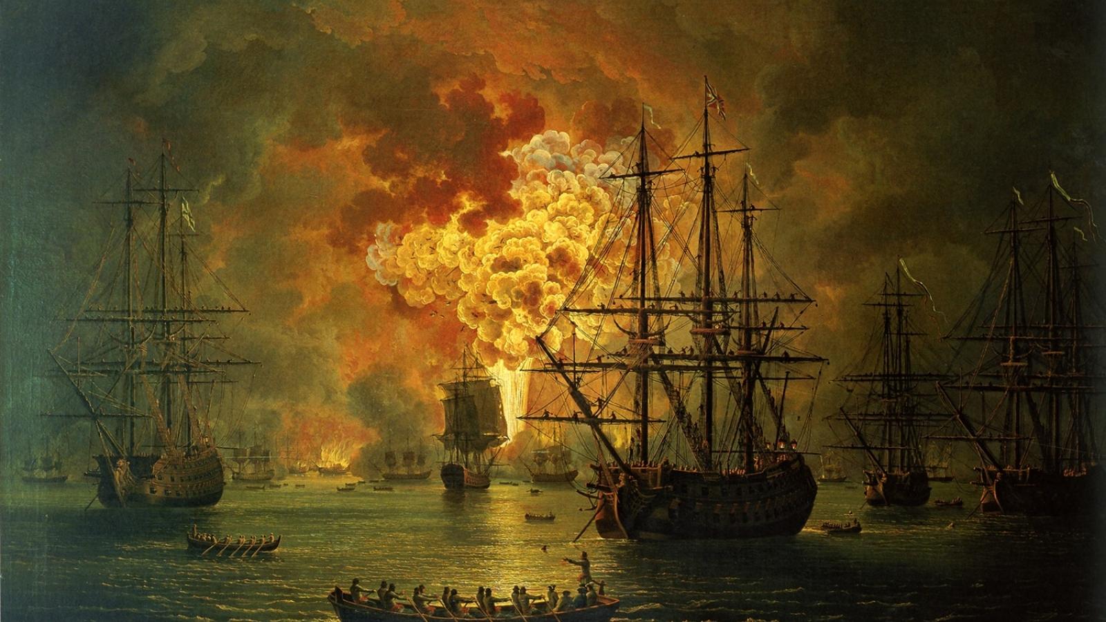 Trận thắng lớn nhất trong lịch sử hải quân Nga – đánh bại Thổ Nhĩ Kỳ ở Chesme