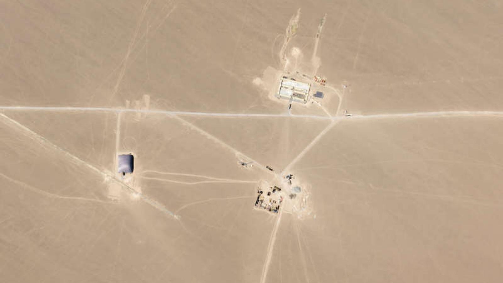Mỹ quan ngại về thông tin Trung Quốc xây dựng 110 hầm chứa tên lửa