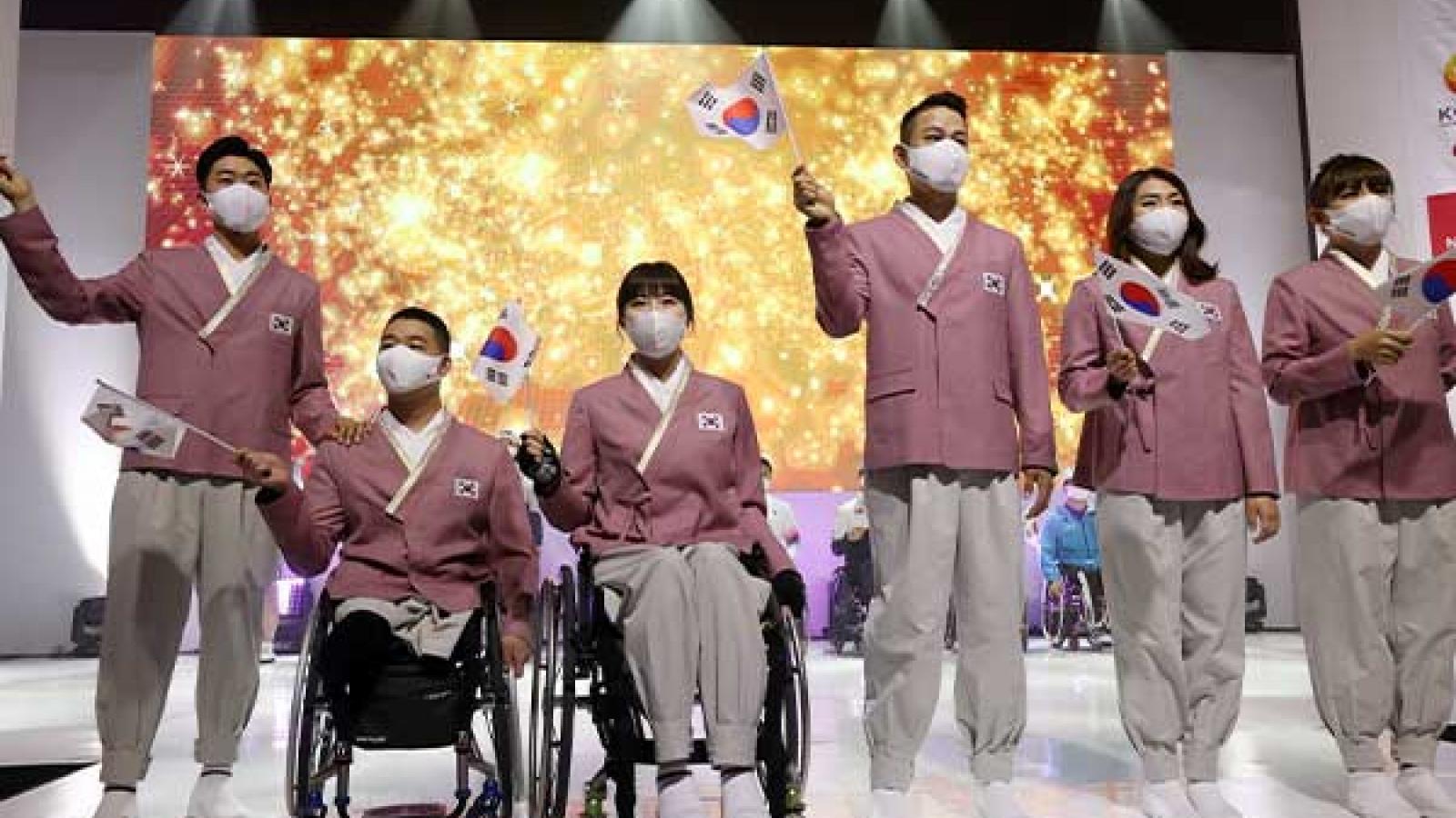 Hàn Quốc xuất quân tham dự Paralympic Tokyo 2020