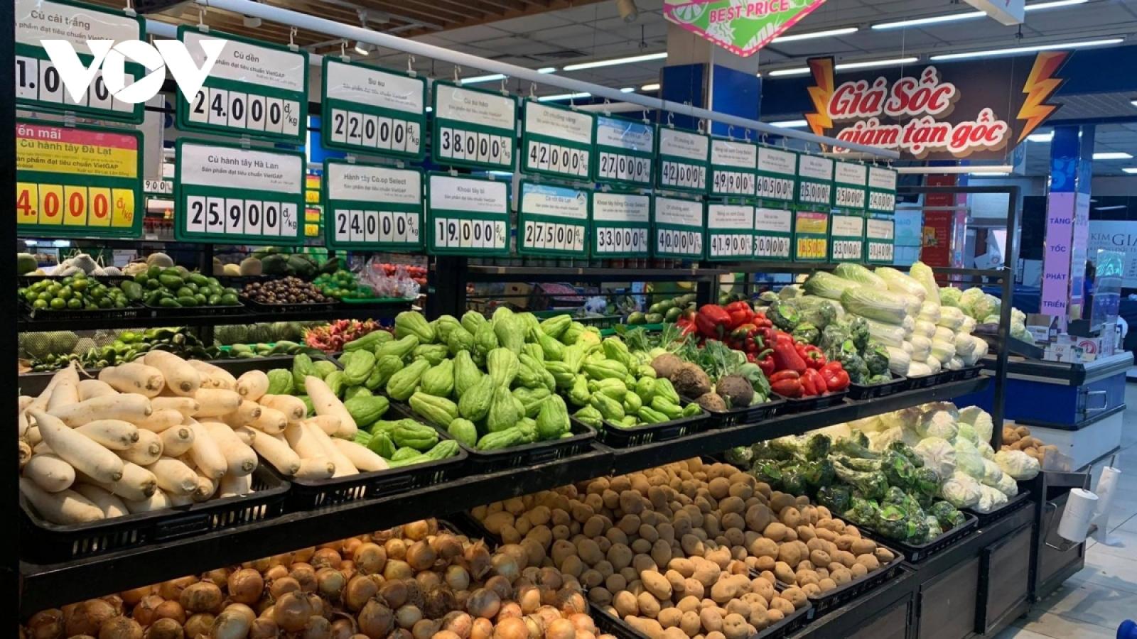 """Hà Nội sẽ có """"luồng xanh"""" đảm bảo hàng hóa thông suốt từ vùng sản xuất đến cửa hàng"""
