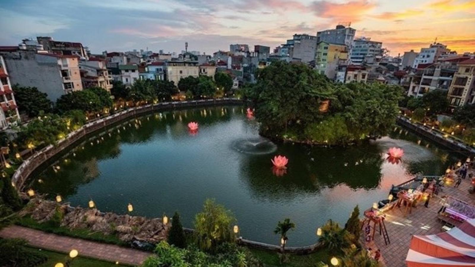 Hanoi to restore cultural values of lake in Temple of Literature complex