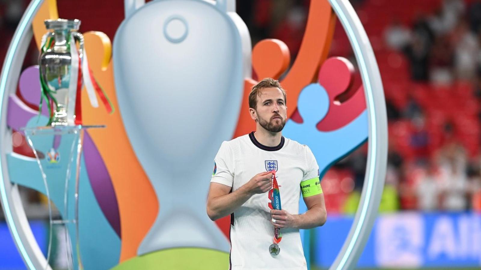 Mất chức vô địch EURO, Harry Kane hướng tới mục tiêu World Cup