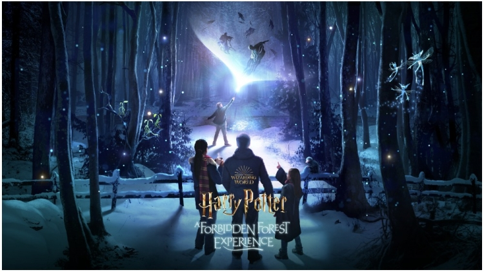 """Sắp ra mắt công viên chủ đề """"Harry Potter: Trải nghiệm trong Rừng Cấm"""""""