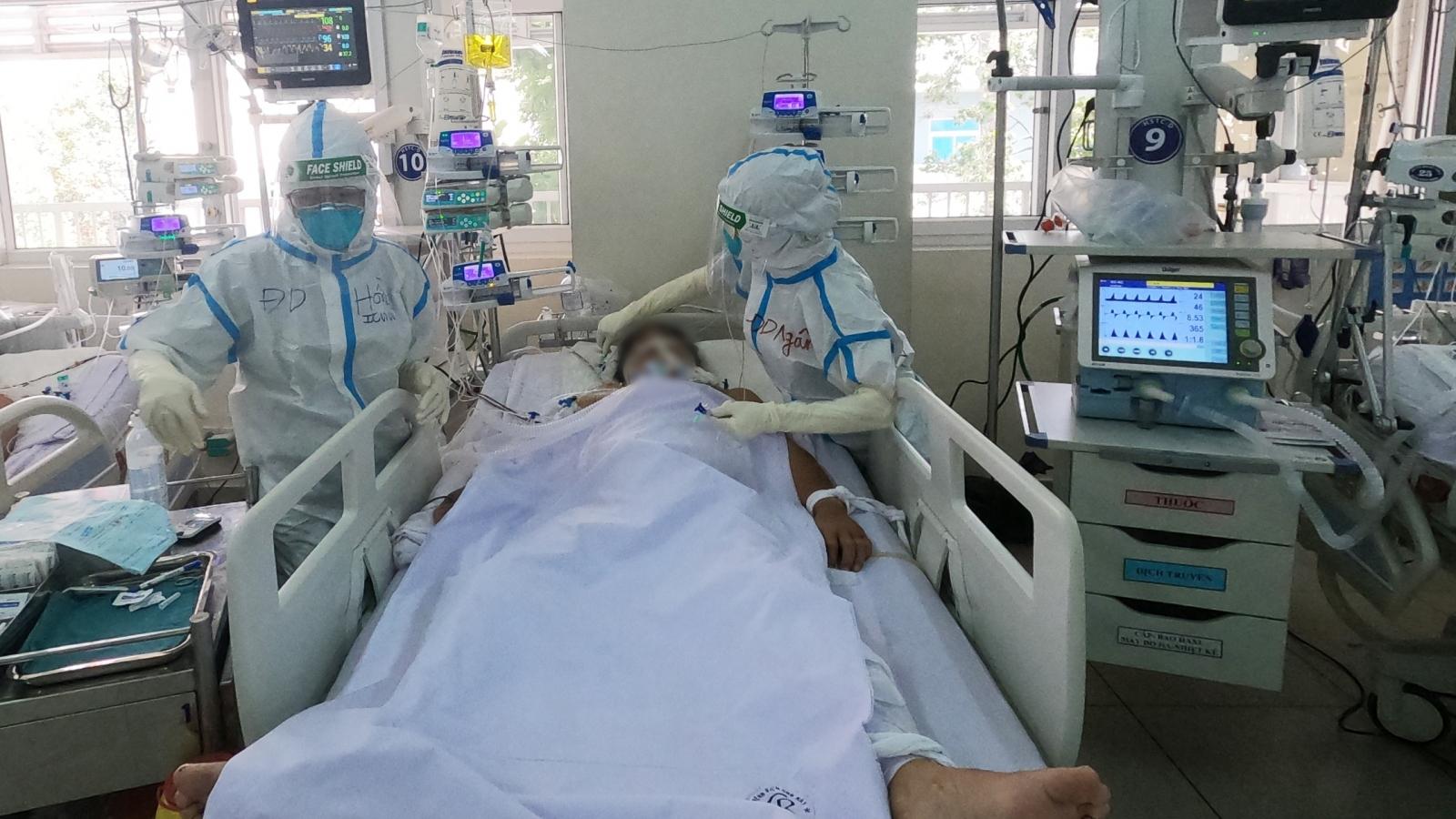 Bệnh viện Chợ Rẫy nâng lên 200 giường hồi sức cho bệnh nhân Covid -19 nặng và nguy kịch