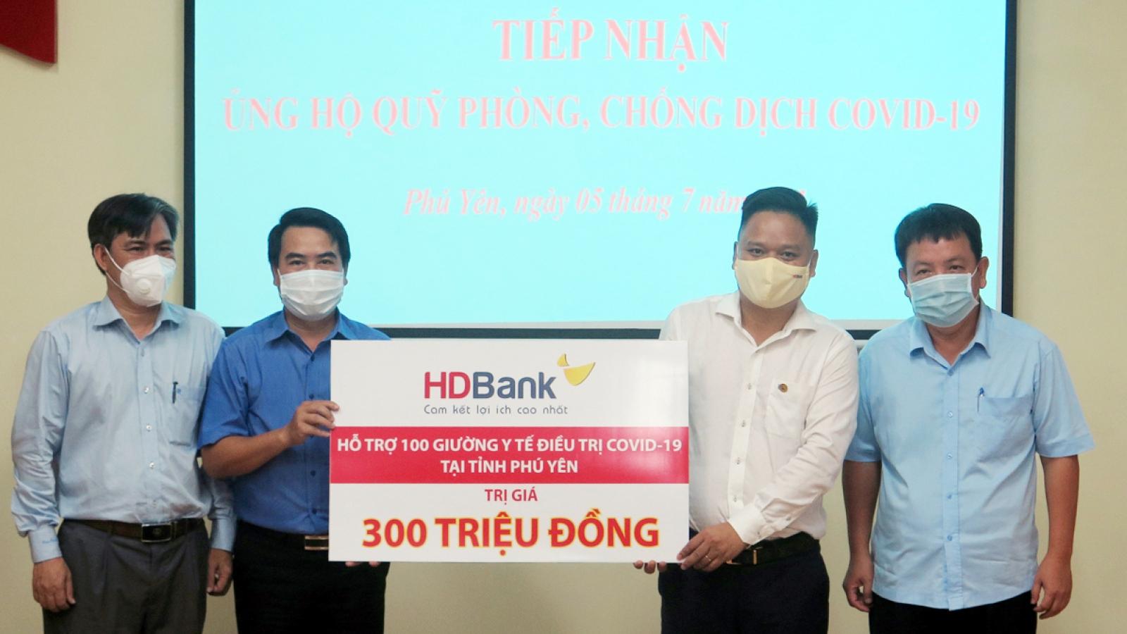 HDBank tặng 100 giường y tế cho tỉnh Phú Yên chống dịch
