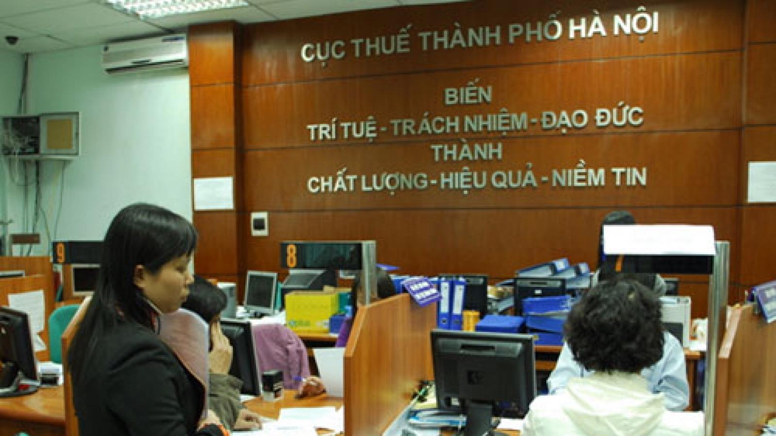 Hà Nội: Không xử phạt vi phạm hành chính người nộp thuế trong thời gian cách ly