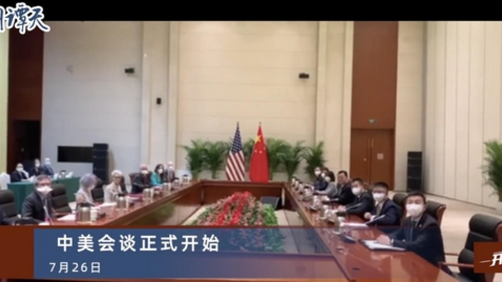 Trung Quốc lại lên án gay gắt Mỹ tại hội đàm Thiên Tân