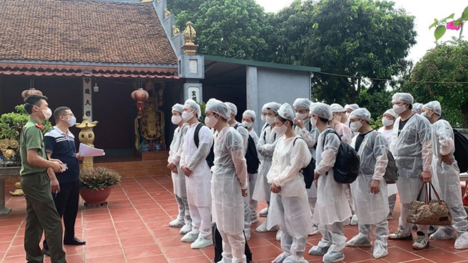 Phát hiện 20 người Trung Quốc nhập cảnh, lưu trú trái phép tại Hưng Yên