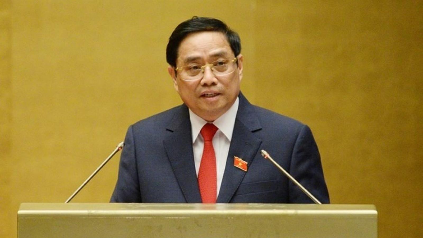 Toàn văn phát biểu của Thủ tướng tại Lễ công bố thành viên Chính phủ
