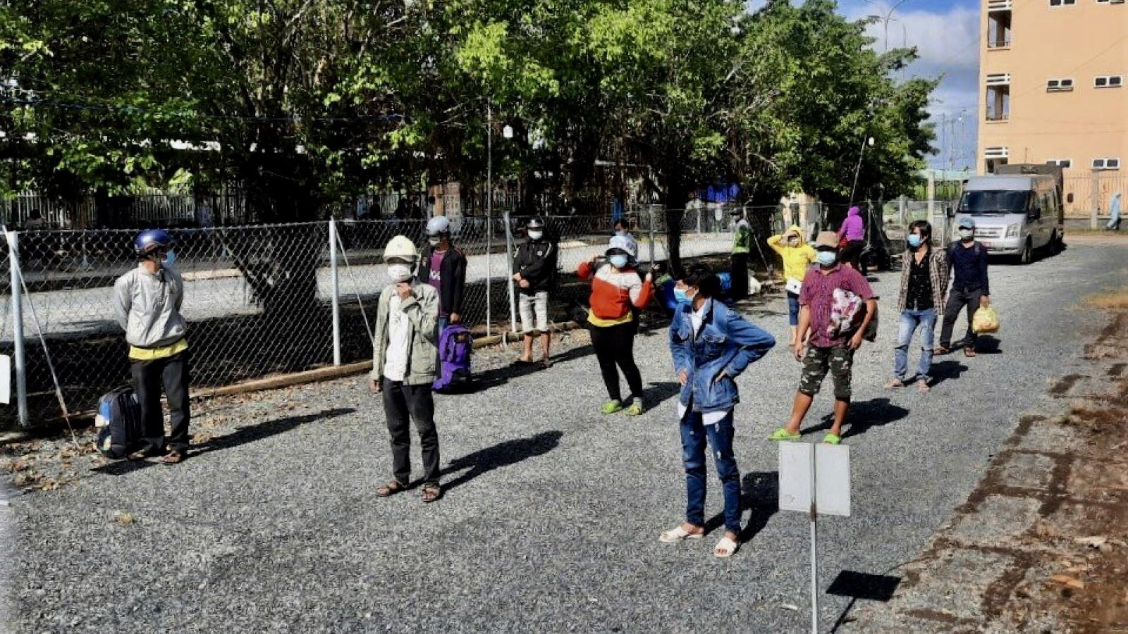 Bạc Liêu đón 42 công dân về từ vùng dịch