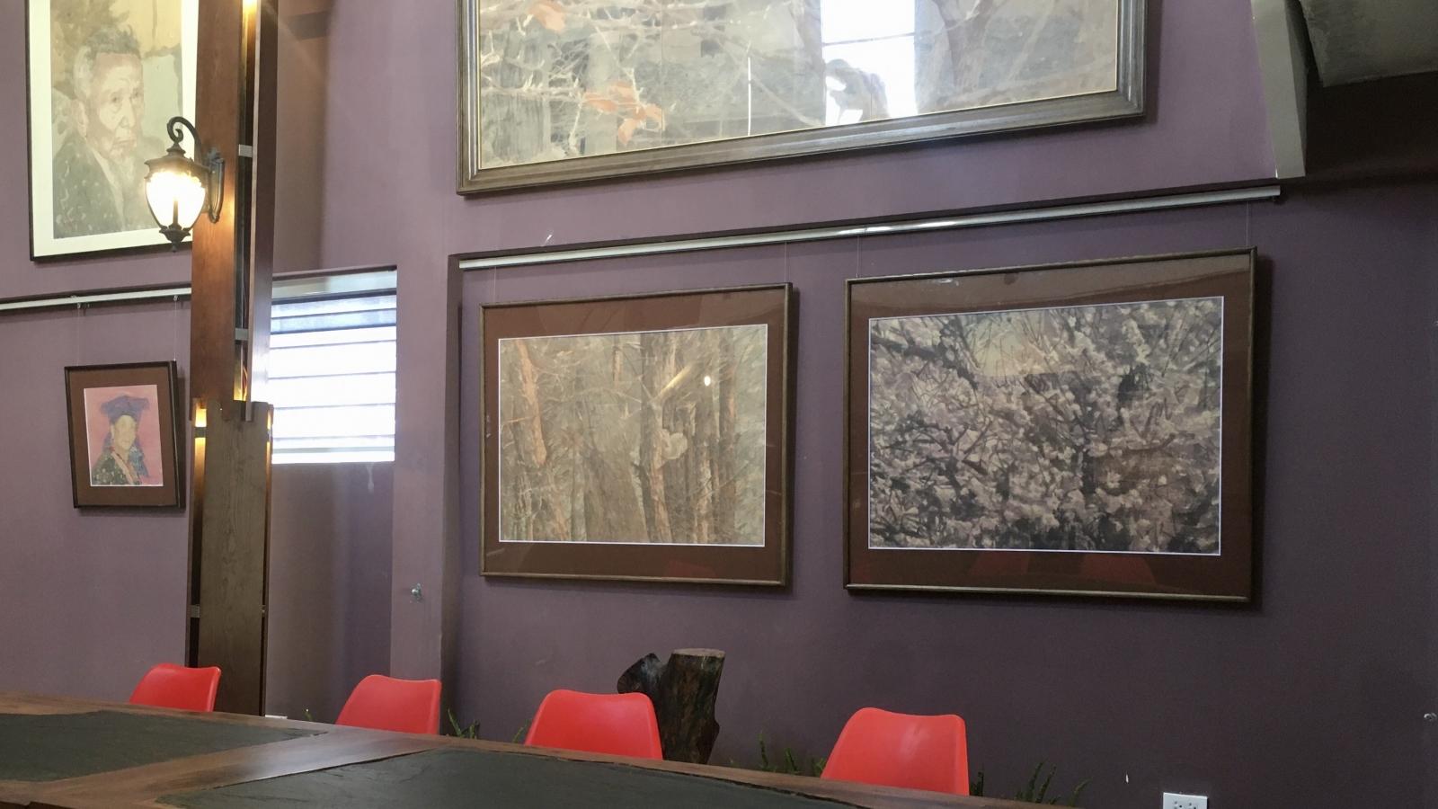Ra mắt không gian triển lãm tranh trên giấy dó tại Hà Nội