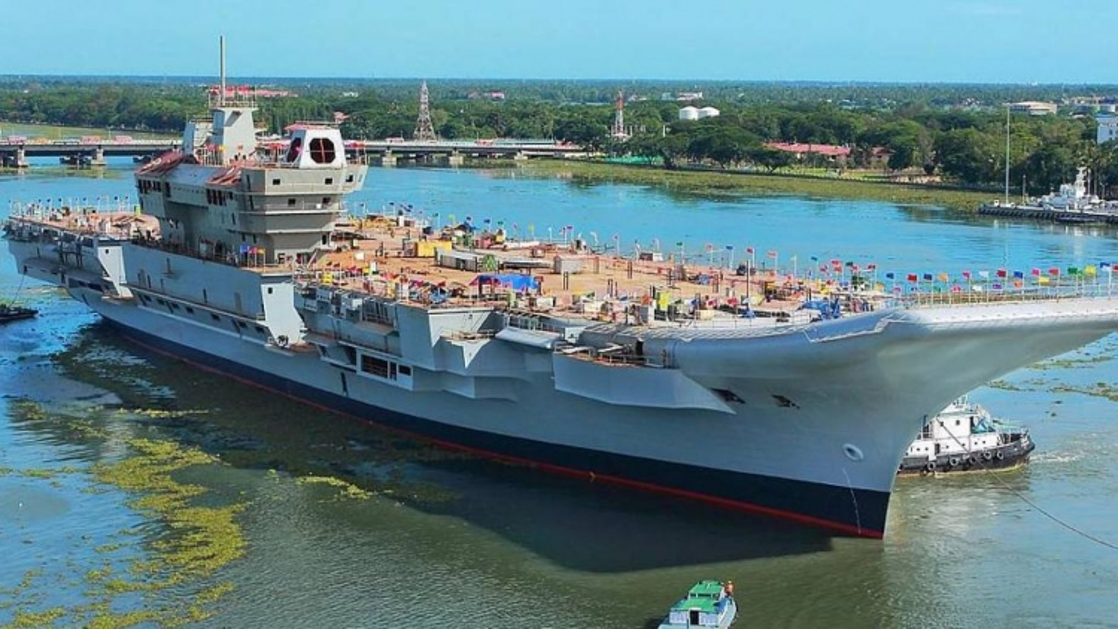 Tàu sân bay INS Vikrant – công cụ đắc lực giúp Ấn Độ cạnh tranh ảnh hưởng với Trung Quốc