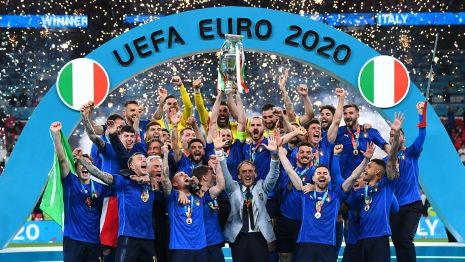 Hành trình lên ngôi vô địch EURO 2021 của Italia