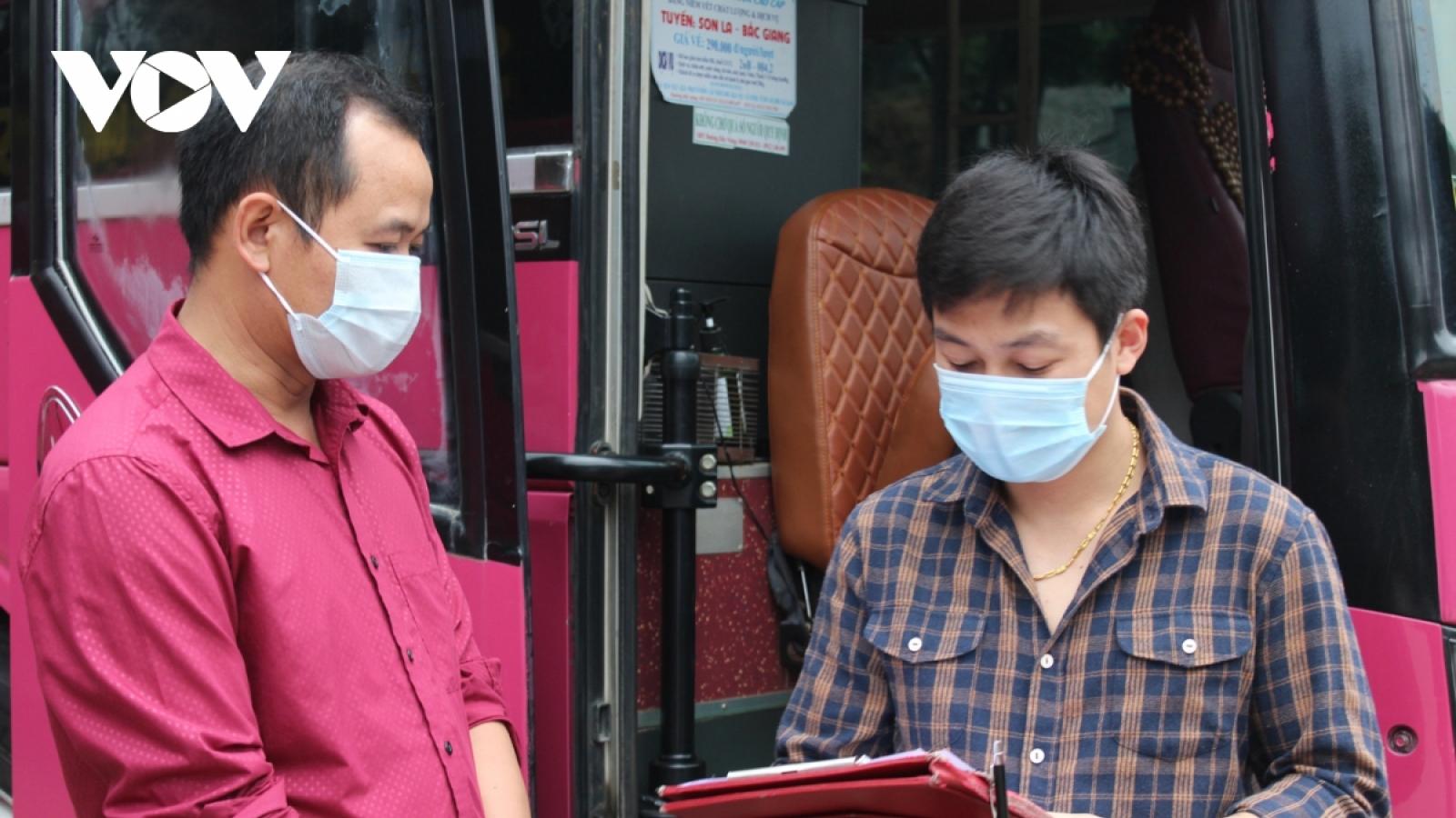 Sơn La nối lại vận tải hành khách tuyến cố định tới 7 tỉnh, thành