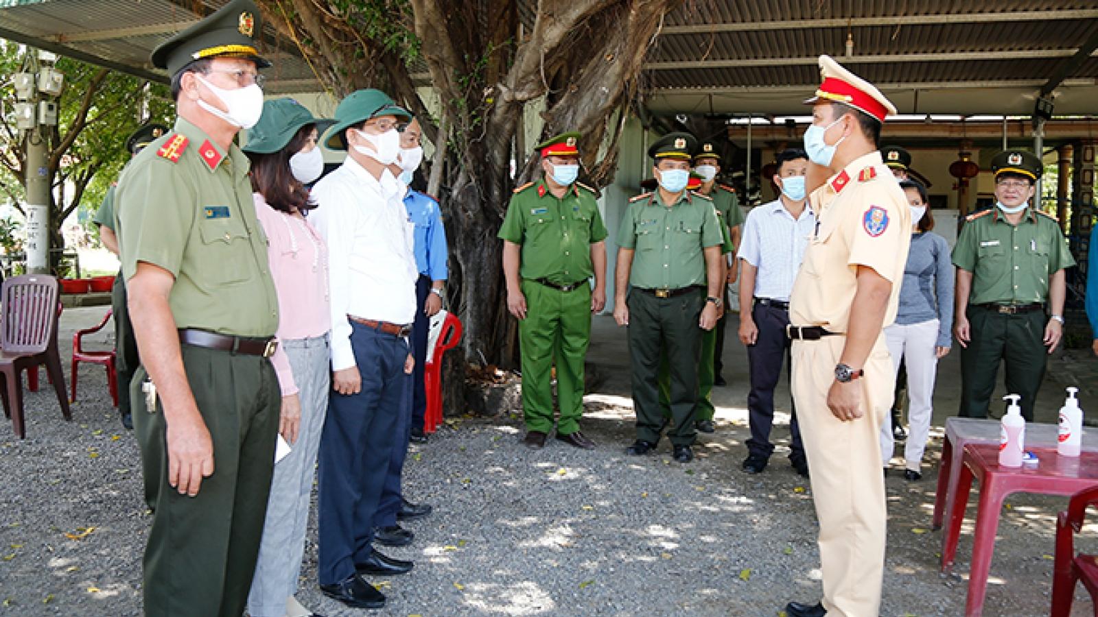 Khánh Hòa lập thêm chốt kiểm soát, tuần tra đường biển phòng Covid-19