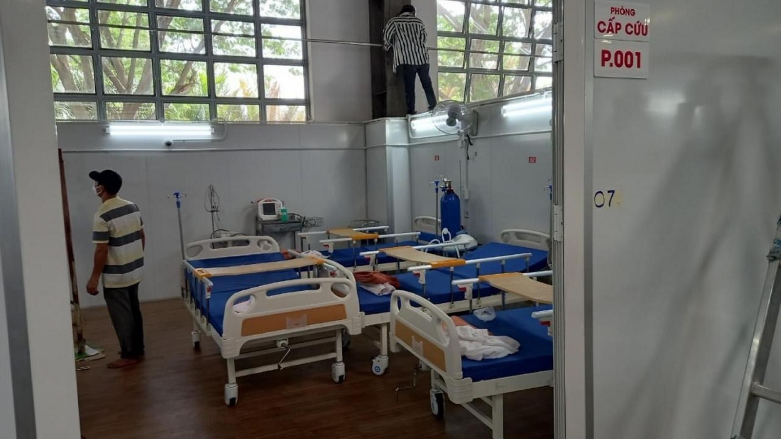 Bệnh viện Dã chiến số 16 của TP.HCM đi vào hoạt động