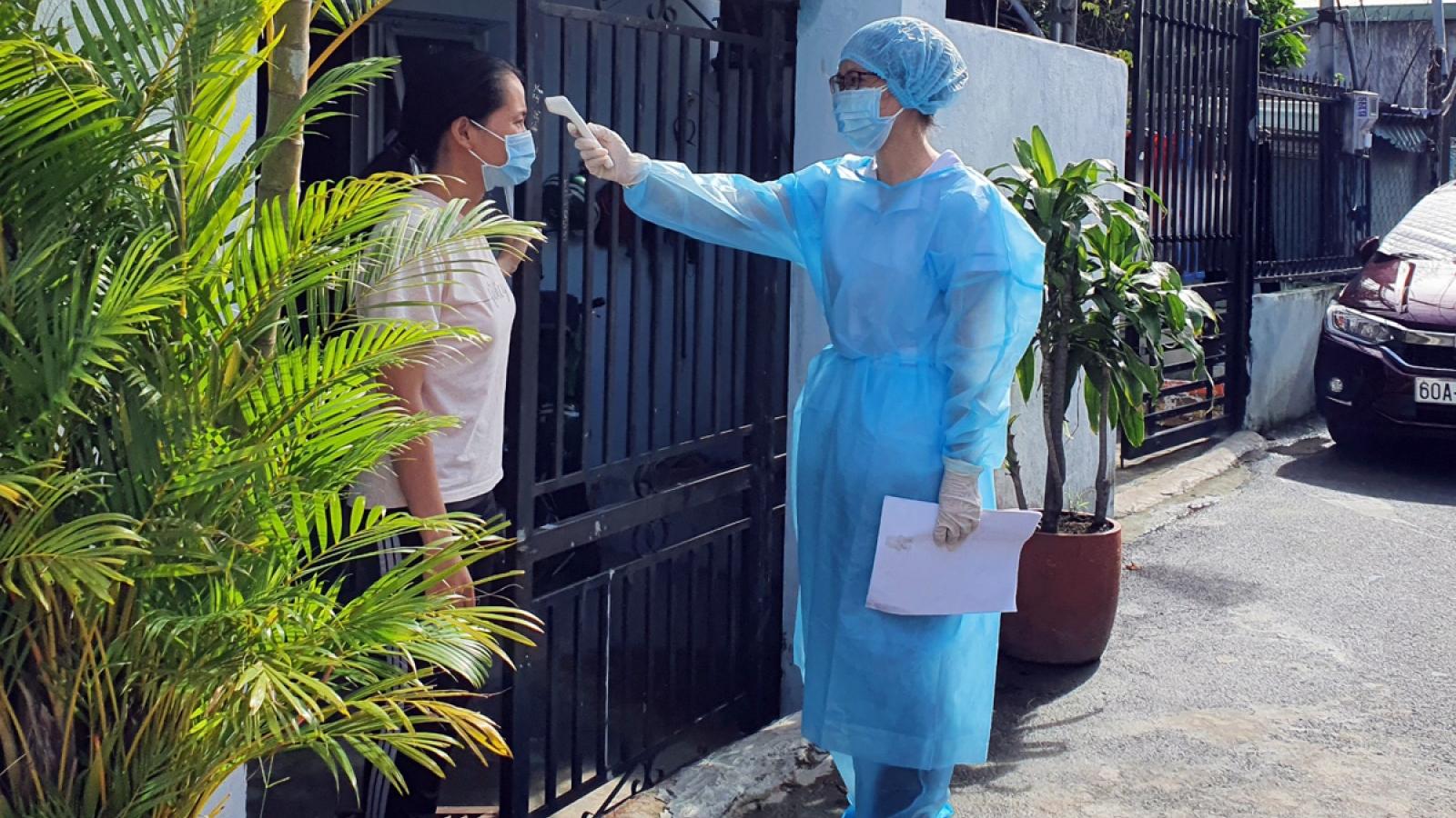 Thành phố Biên Hòa bắt đầu thí điểm cách ly F1 tại nhà