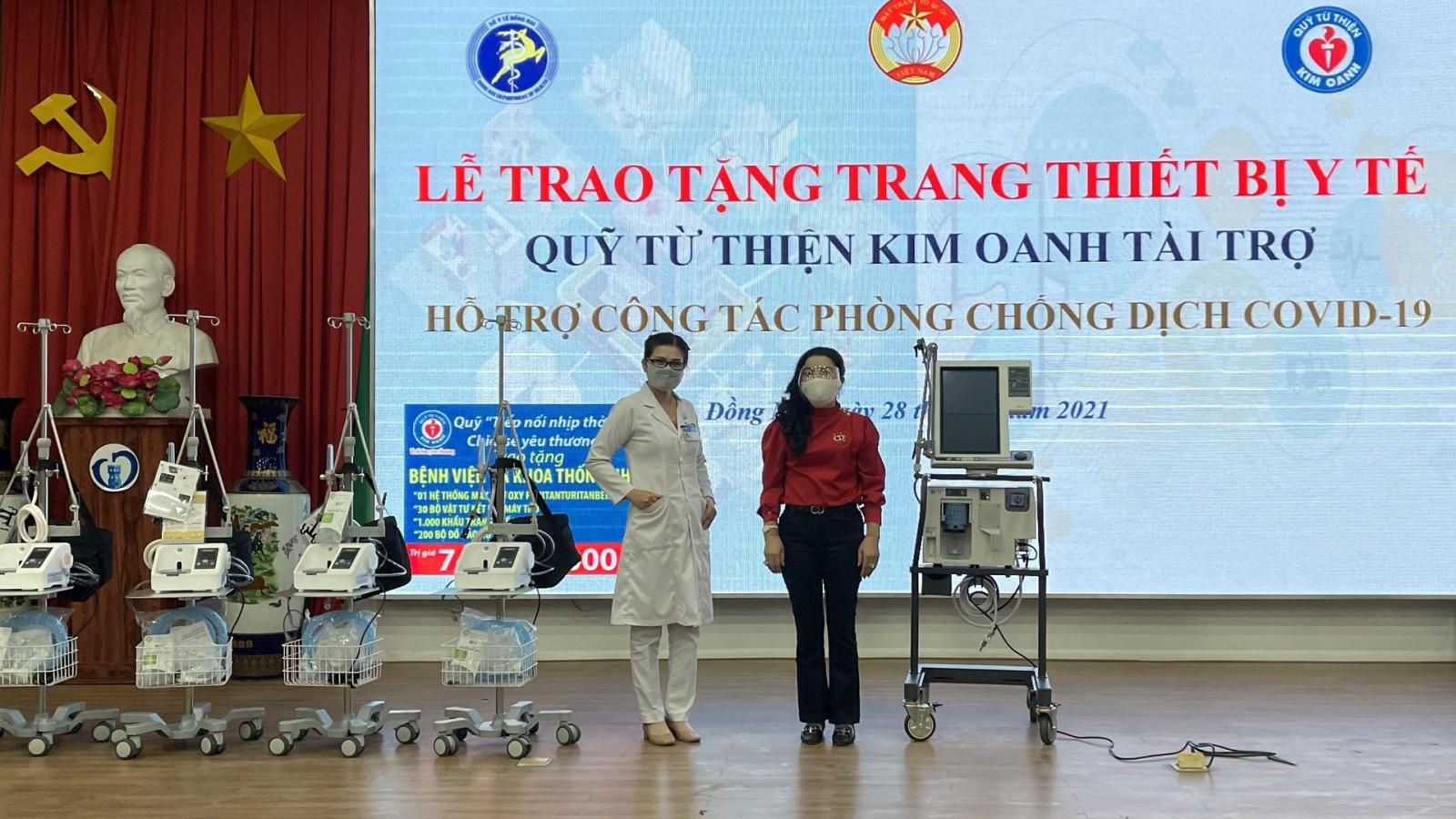 """Kim Oanh Group đẩy mạnh chương trình """"Tiếp nối nhịp thở-chia sẻ yêu thương"""""""