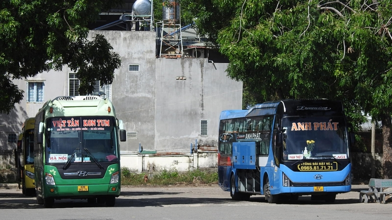 Kon Tum tạm dừng hoạt động vận tải hành khách công cộng đến các tỉnh phía Nam