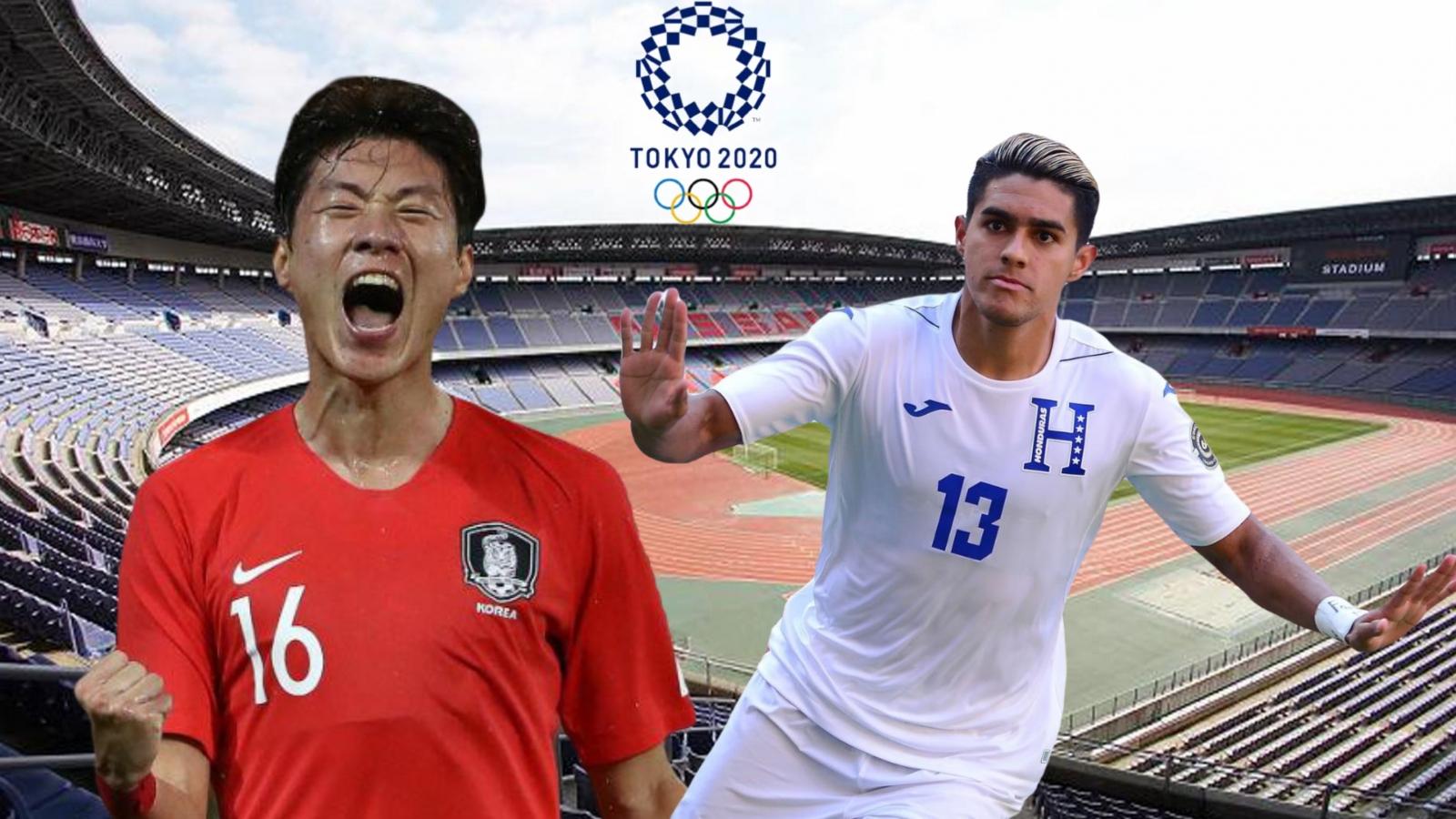 Dự đoán kết quả, đội hình xuất phát trận Olympic Hàn Quốc - Olympic Honduras