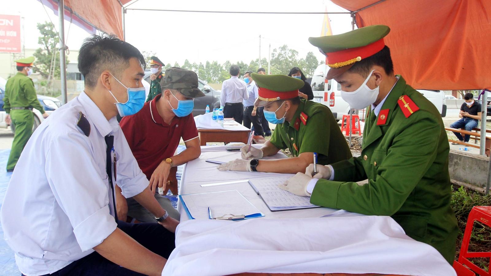 Hải Phòng cách ly y tế tập trung đối với người từ Hà Nội về hoặc đi qua Hà Nội