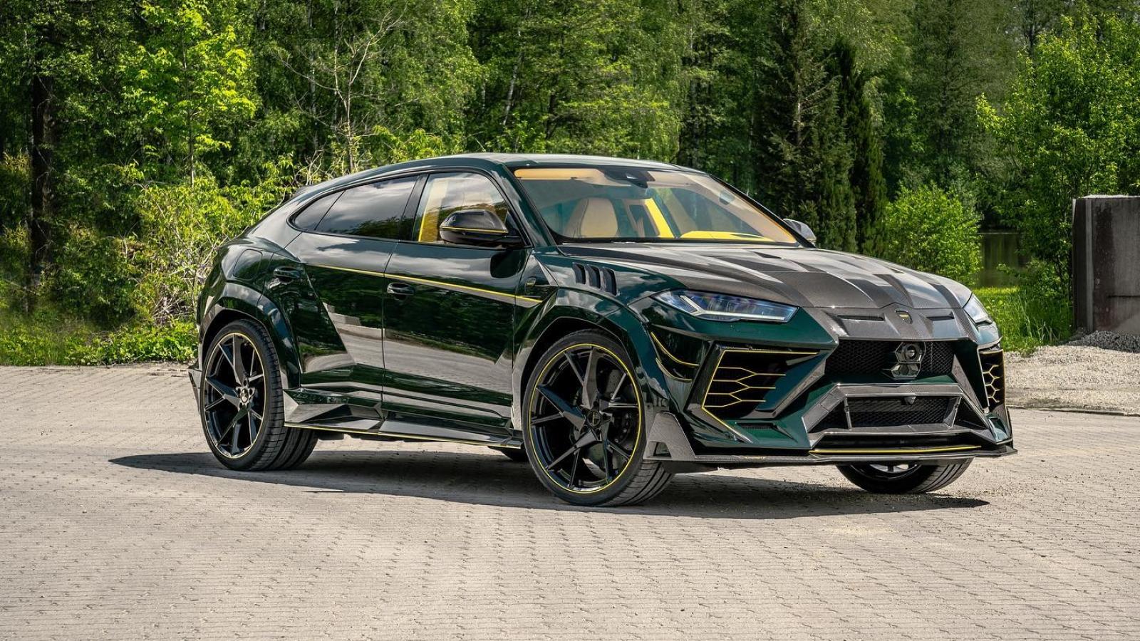 Mansory tiếp tục tung ra thêm Lamborghini Urus với gói độ Venatus