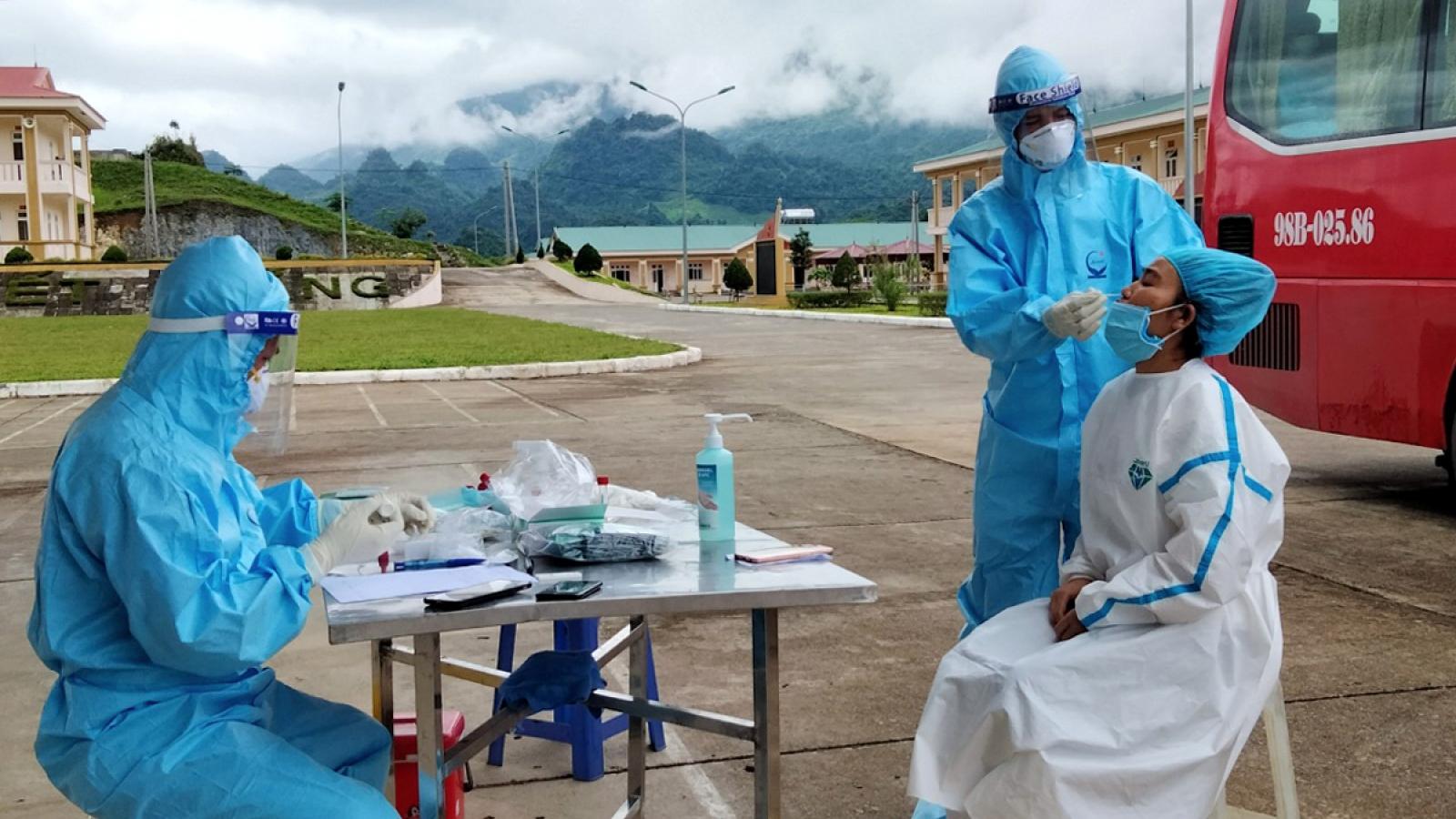2 trường hợp ở Lai Châu tái dương tính với SARS-CoV-2
