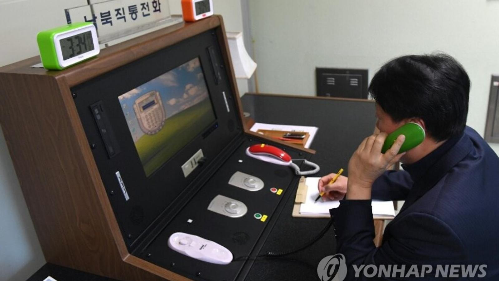 Hàn Quốc và Triều Tiên nối lại đường dây nóng liên lạc