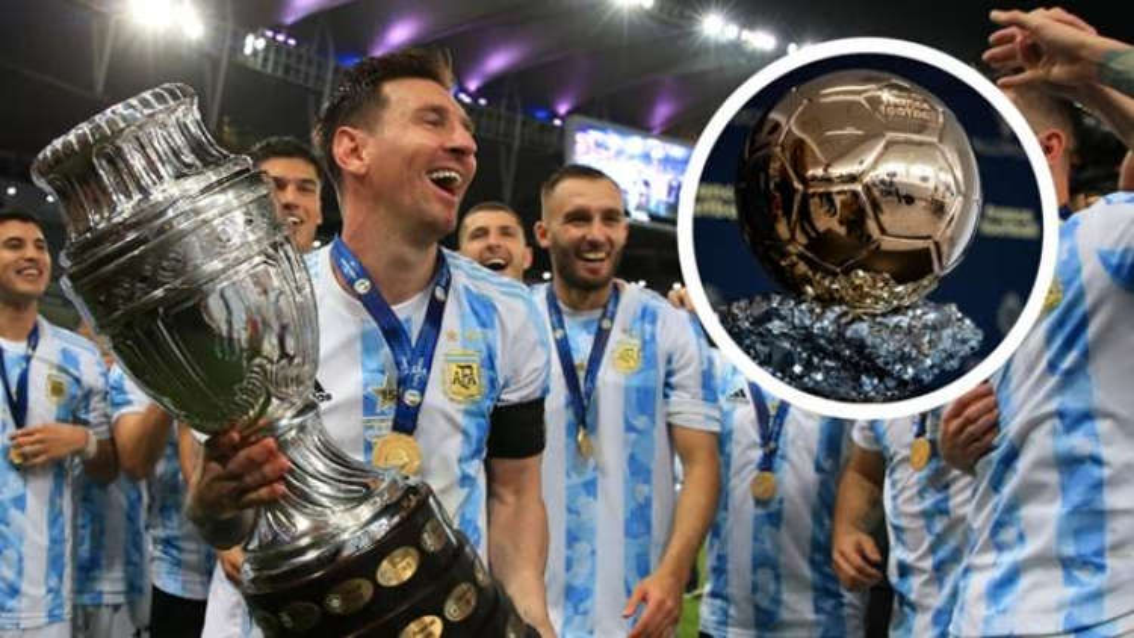Top 10 ứng viên Quả bóng Vàng 2021: Messi bỏ xa nhà vô địch EURO 2021