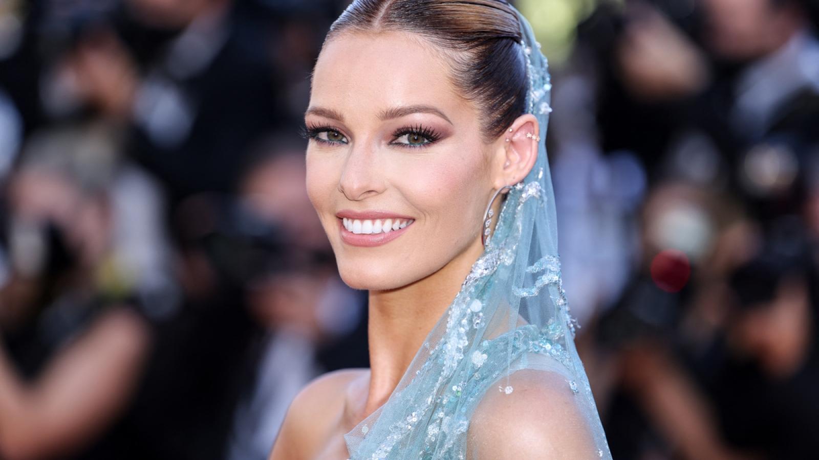 Hoa hậu Pháp 2018 diện đầm xuyên thấu, đọ sắc với dàn mỹ nhân trên thảm đỏ Cannes