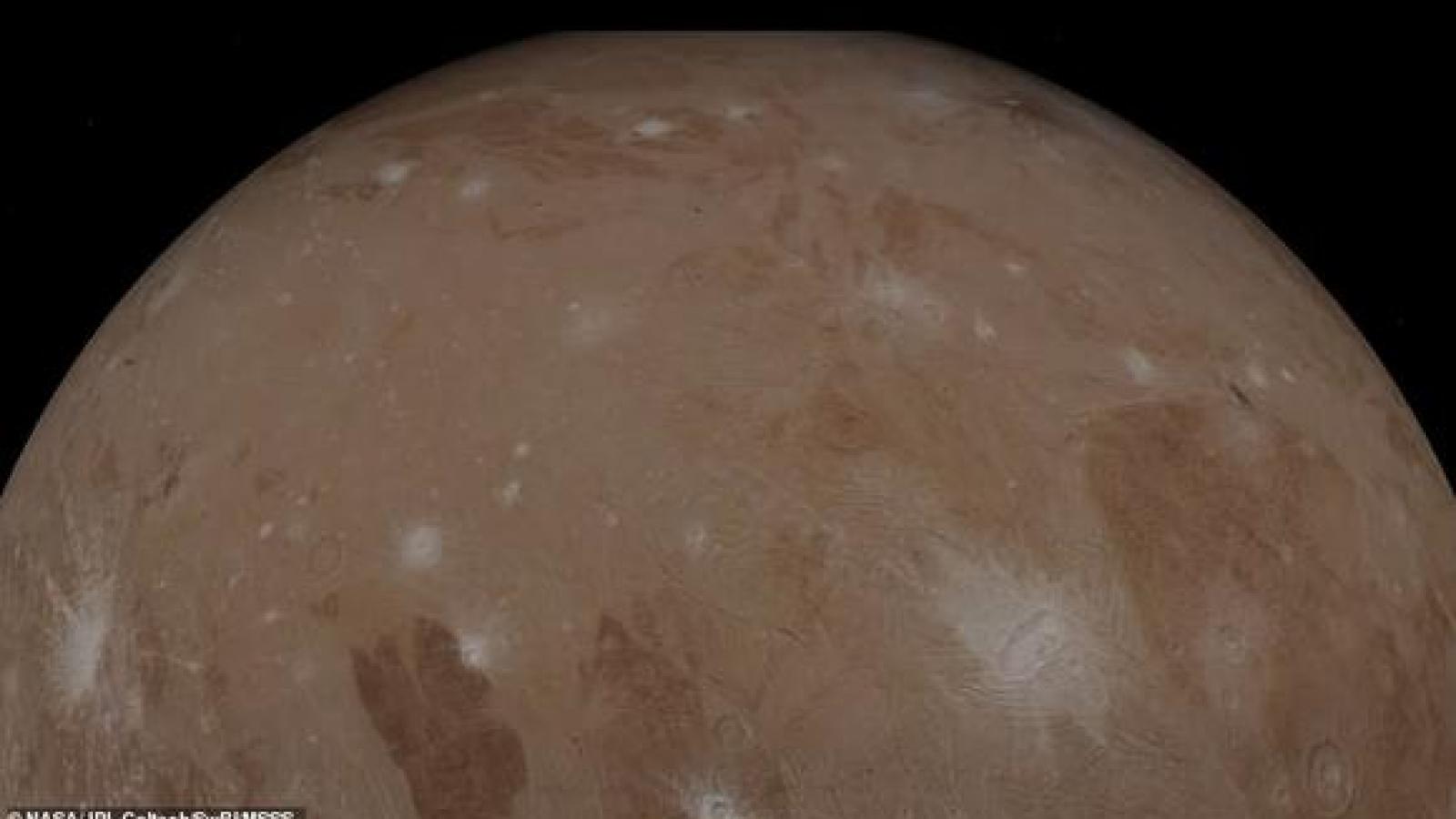 Chiêm ngưỡng hình ảnh ấn tượng về Sao Mộc và Mặt trăng Ganymede