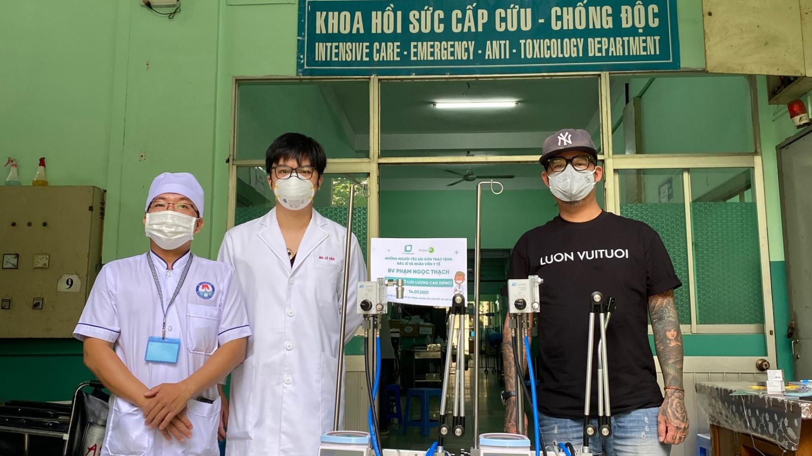 Hội nữ doanh nhân kiều bào Australia mua 2 máy trợ thở cho bệnh viện ở TP.HCM