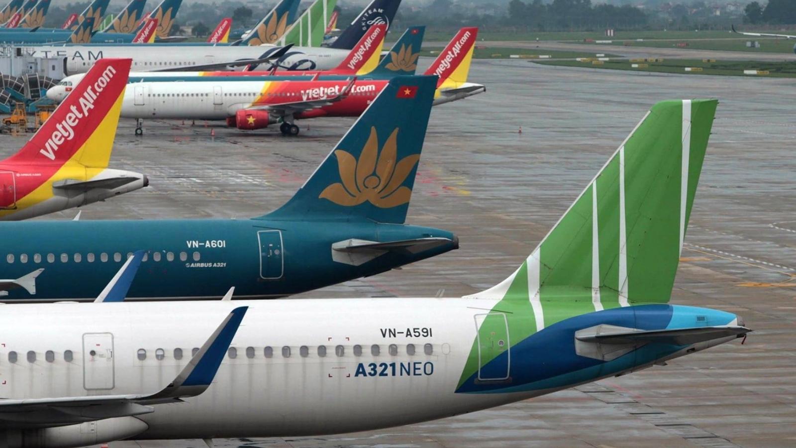 Bộ GTVT yêu cầu cắt giảm chuyến bay Hà Nội - TP. HCM còn 2 chuyến/ngày