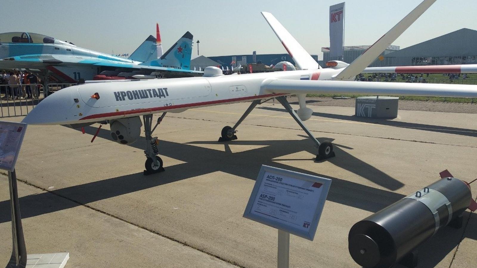 Điểm danh 6 máy bay chiến đấu không người lái có thể giúp Nga đuổi kịp Mỹ