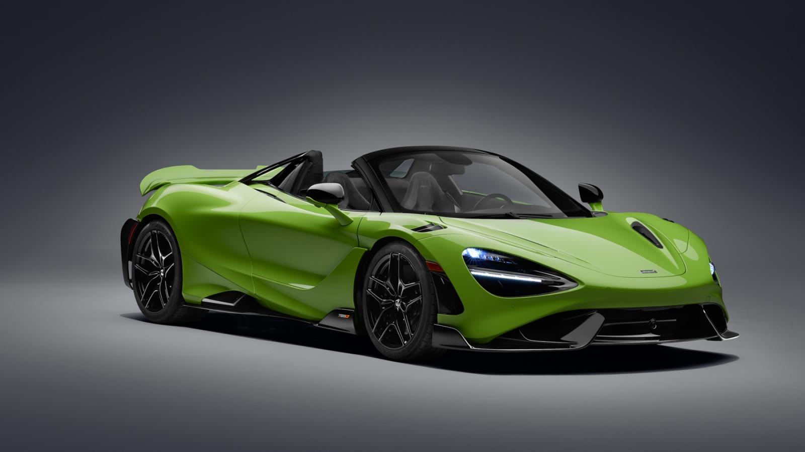 McLaren ra mắt siêu xe mui trần mạnh nhất từ trước tới nay - 765LT Spider