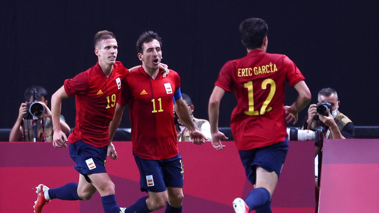 Sao dự EURO tỏa sáng, Tây Ban Nha thắng nhọc Australia ở Olympic Tokyo