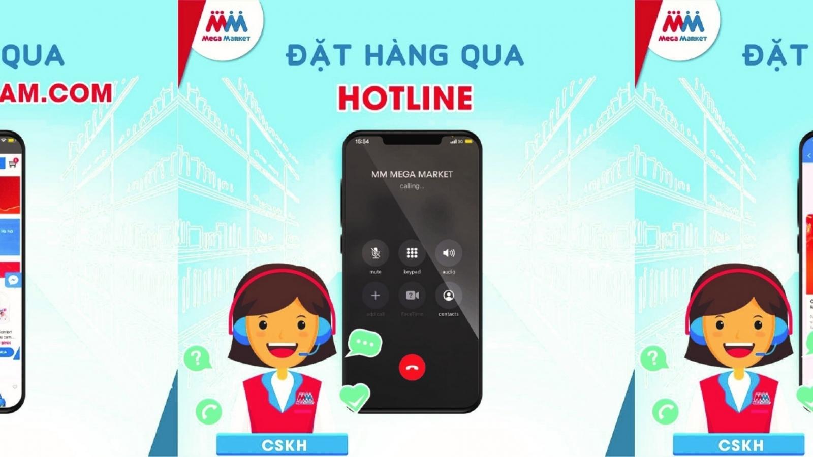 MM Mega Market Vietnam promotes online shopping solutions