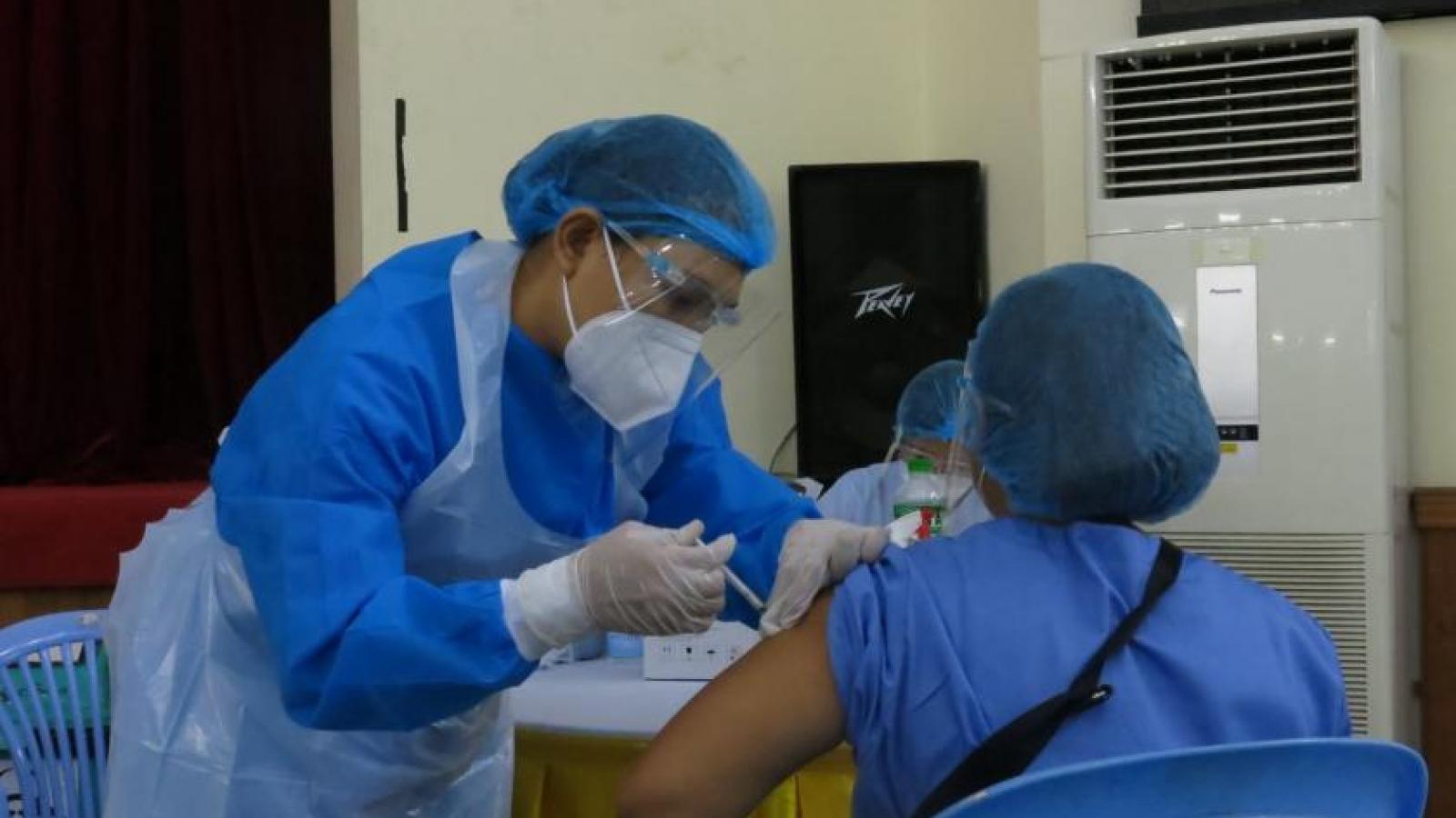 Myanmar đặt chỉ tiêu tiêm vaccine cho 1/2 dân số trong năm nay