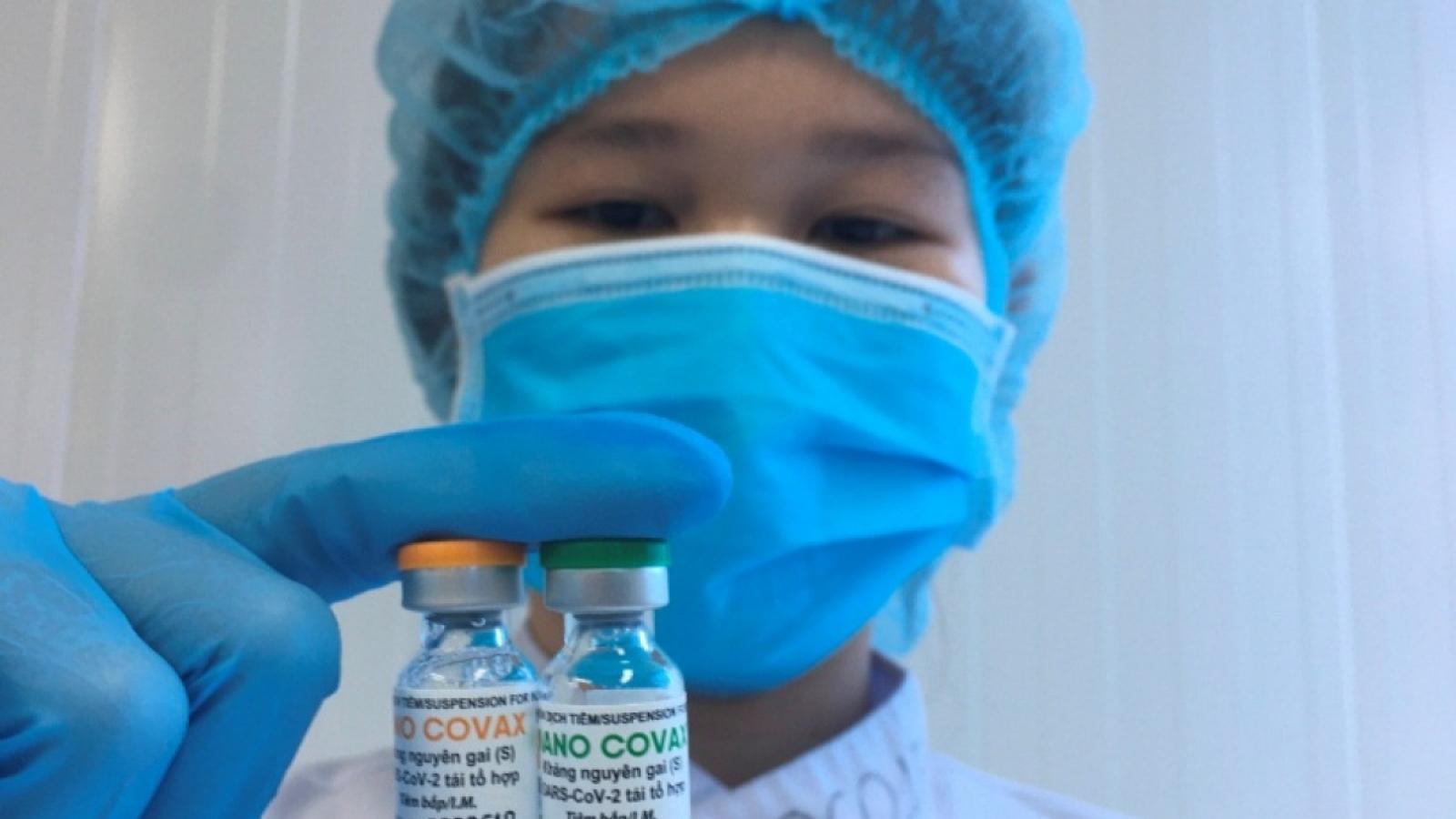 Bộ Y tế nghiên cứu, xem xét việc cấp phép lưu hành khẩn cấp vaccine Nanocovax