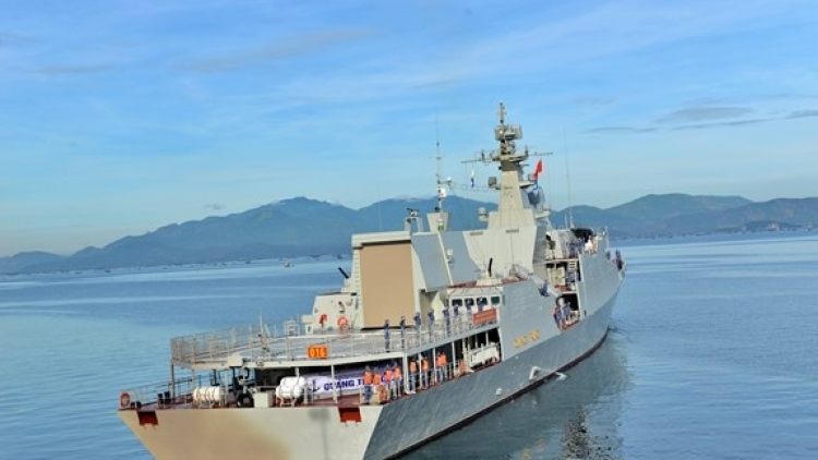 Naval soldiers set off for 2021 Army Games