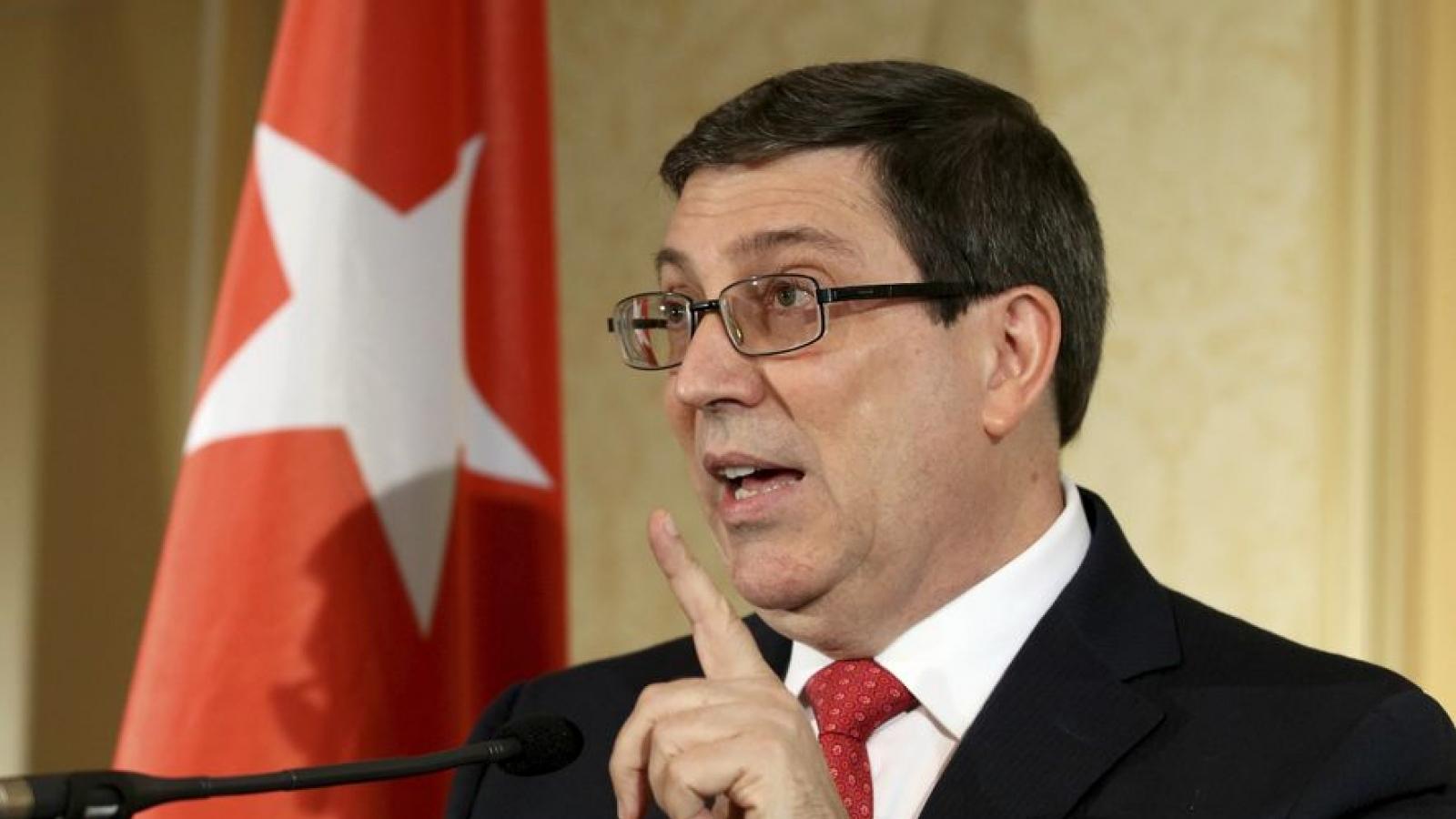 Cuba bác bỏ các lệnh trừng phạt mới của Mỹ