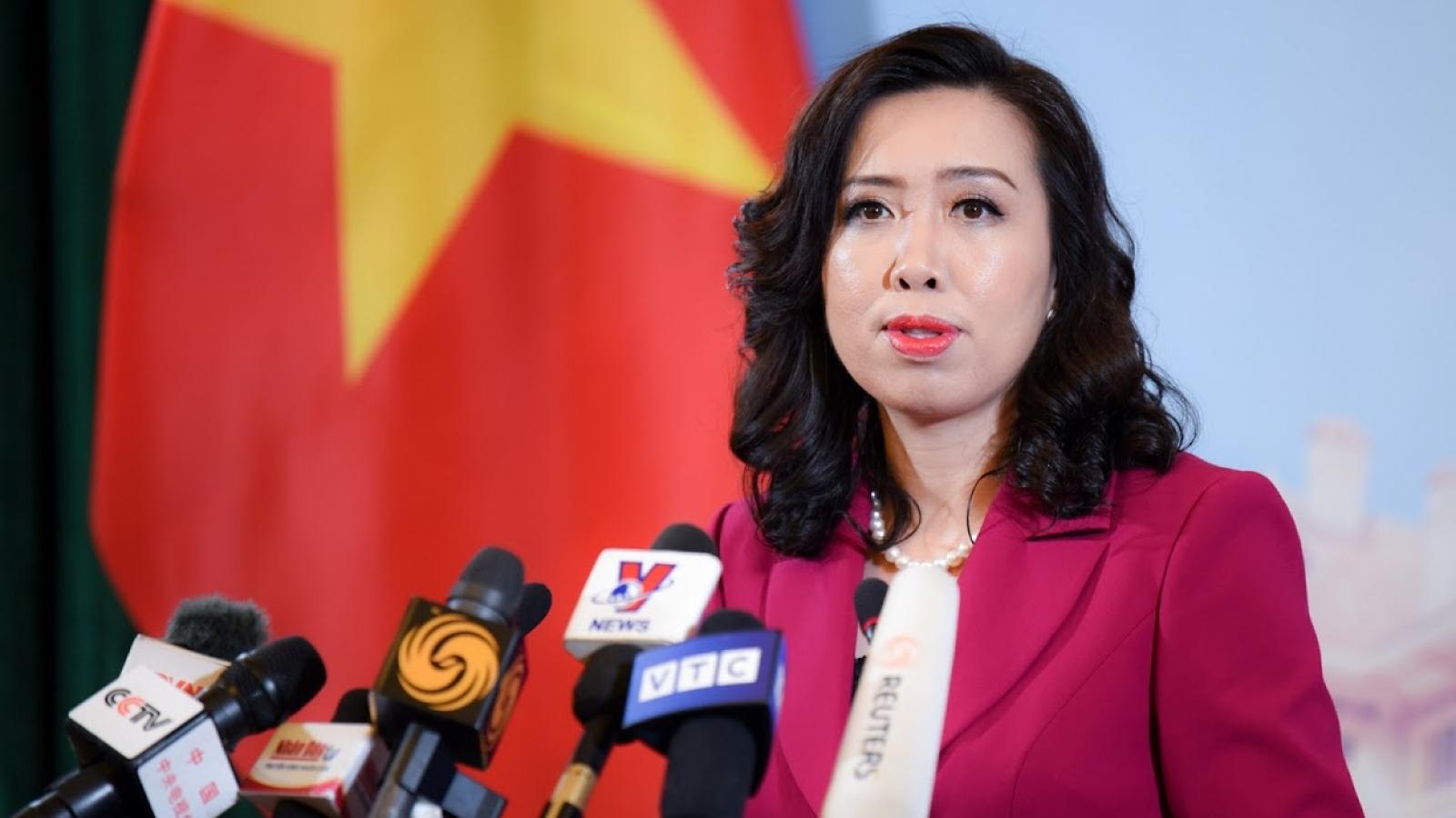 Việt Nam khẳng định lập trường nhất quán về Phán quyết ở Biển Đông